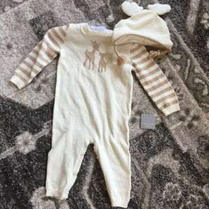 NWT Baby Deer one piece